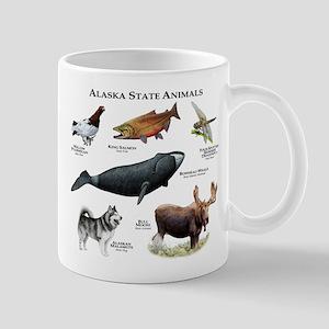 Alaska State Animals Mug