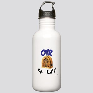 OTR 4 U Old Time Radio Stainless Water Bottle 1.0L