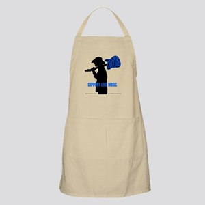 BLUES MAN - SUPPORT LIVE MUSIC Apron