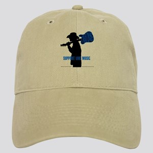 BLUES MAN - SUPPORT LIVE MUSIC Cap