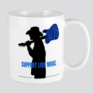 BLUES MAN - SUPPORT LIVE MUSIC Mug