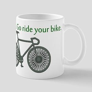 TV Sucks. Go Ride Your Bike! Mug