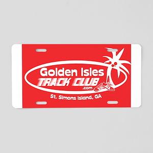 GITCredPNG Aluminum License Plate