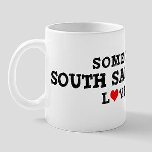 South San Gabriel: Loves Me Mug