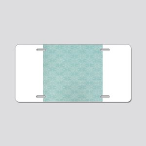 Blue Wrapping Paper Aluminum License Plate