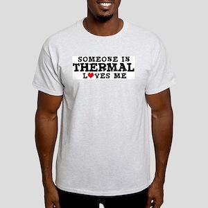 Thermal: Loves Me Ash Grey T-Shirt