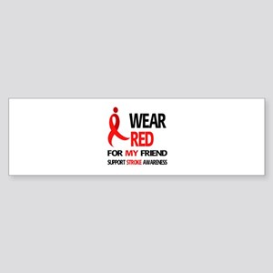 Stroke Awareness 2 Sticker (Bumper)