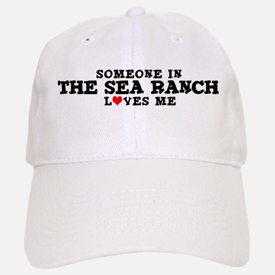 The Sea Ranch: Loves Me Baseball Baseball Cap