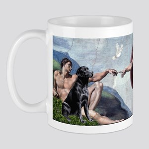Creation/Black Lab Mug