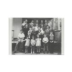 Louis Dumes Family Rectangle Magnet