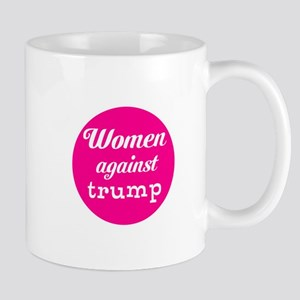 Woman against trump Mugs