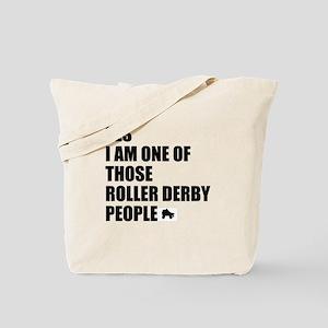 ROLLER DERBY PEOPLE Tote Bag