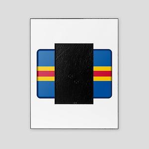 Aland Flag Picture Frame