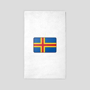 Aland Flag Area Rug