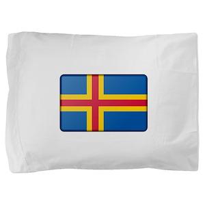 Aland Flag Pillow Sham