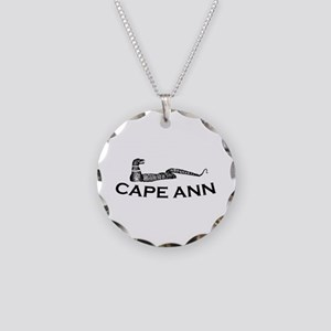 Cape Ann - Sea Serpent Design. Necklace Circle Cha