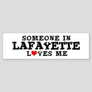 Lafayette: Loves Me Bumper Sticker