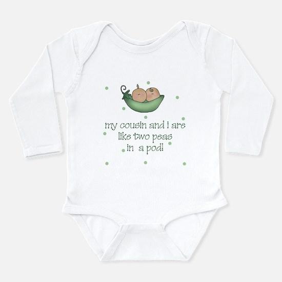 Cute Cousin Long Sleeve Infant Bodysuit