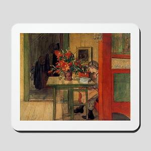 The Reader, Carl Larsson Mousepad