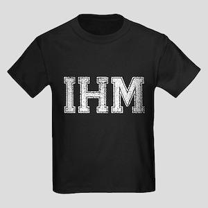 IHM, Vintage, Kids Dark T-Shirt