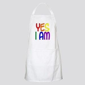 Yes I Am Apron