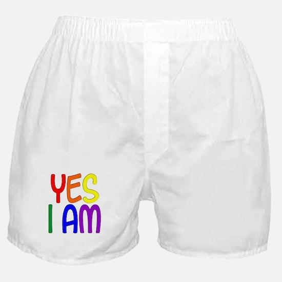 Yes I Am Boxer Shorts