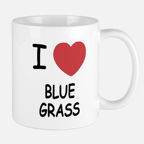 I heart bluegrass Mug