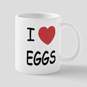 I heart eggs Mug