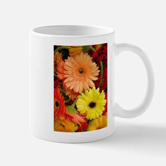 Gerbera Daisies Mug - Right-Handed
