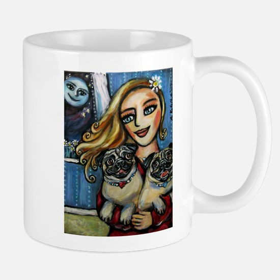 pug momma love Mug