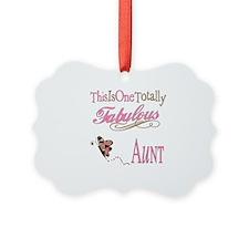 Fabulous Aunt Picture Ornament