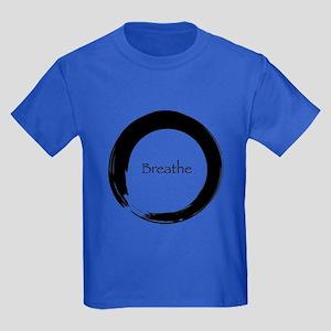 Enso with Breathe Kids Dark T-Shirt