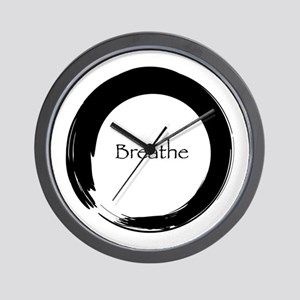 Enso with Breathe Wall Clock
