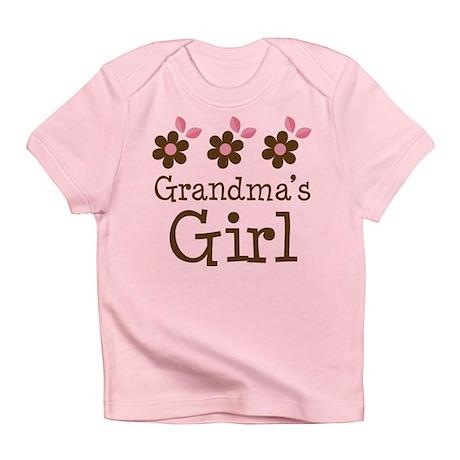 Grandma's Girl Daisies Infant T-Shirt