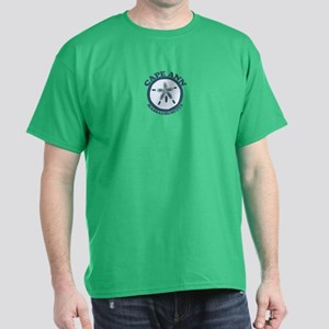 Cape Ann - Sand Dollar Design. Dark T-Shirt