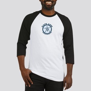Cape Ann - Sand Dollar Design. Baseball Jersey
