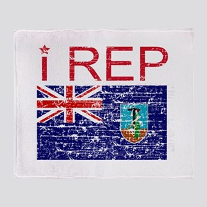 I Rep Montserrat Throw Blanket