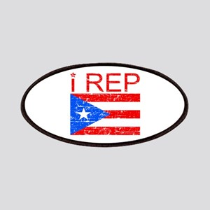 I Rep Puerto Rico Patches
