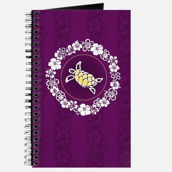 """Hibiscus Circle"" (Purple) Journal"