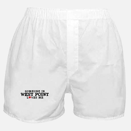 West Point: Loves Me Boxer Shorts