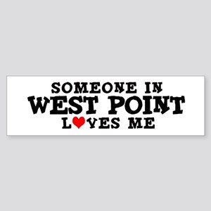 West Point: Loves Me Bumper Sticker