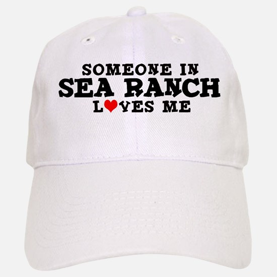 Sea Ranch: Loves Me Baseball Baseball Cap