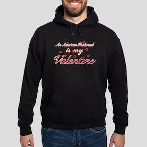 An American Foxhound is my valentines Hoodie (dark