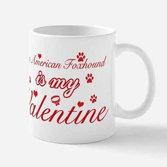 An American Foxhound is my valentines Mug