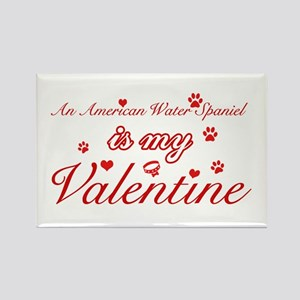 An American Water Spaniel is my valentines Rectang