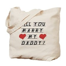 Will you marry? Tote Bag