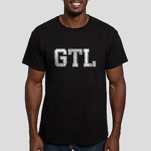 GTL, Vintage, Men's Fitted T-Shirt (dark)
