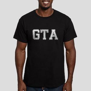 GTA, Vintage, Men's Fitted T-Shirt (dark)