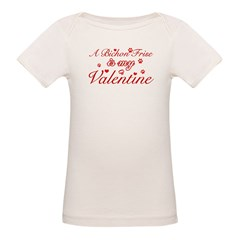 A Bichon Frise is my valentines Tee