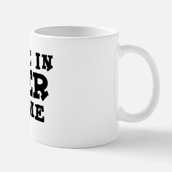 Sanger: Loves Me Mug